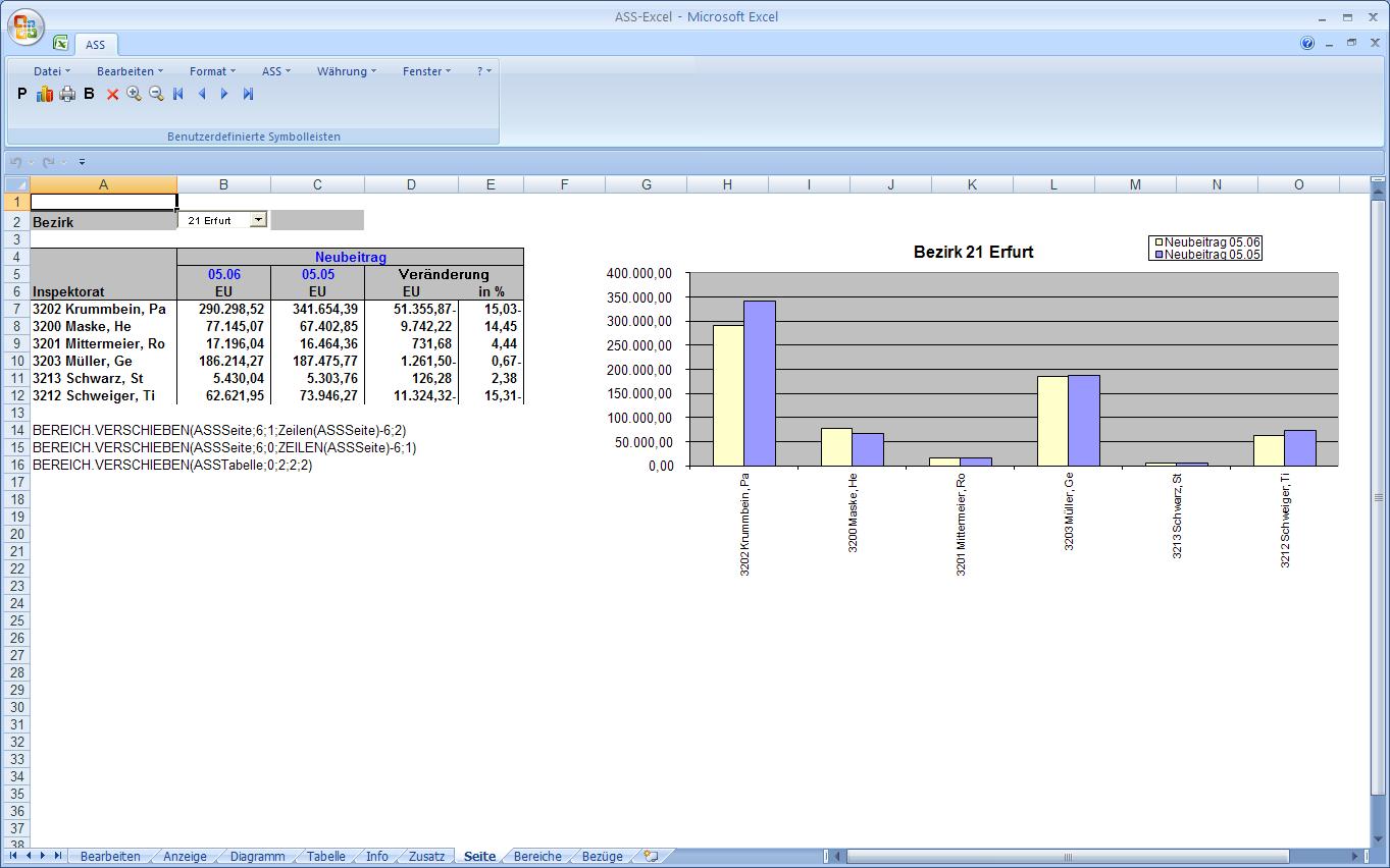 ASS 8.00 - Auswertung ASS-Excel - UBA Software