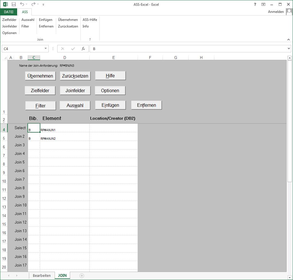ASS 8.10 - Auswertung ASS-Excel - UBA Software